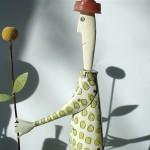 gardening woman - SOLD